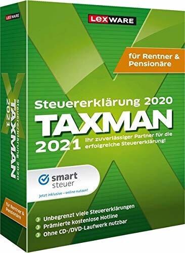 Lexware Taxman 2021 Rentner/Pensionäre (Box)