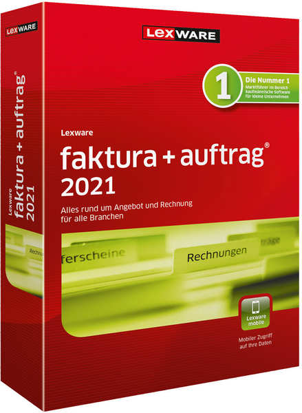 Lexware faktura+auftrag 2021