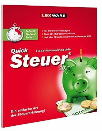 Lexware QuickSteuer 2021 (FFP)