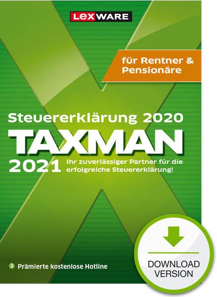 Lexware Taxman 2021 Rentner/Pensionäre (Download)