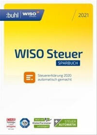Buhl WISO steuer:Sparbuch 2021