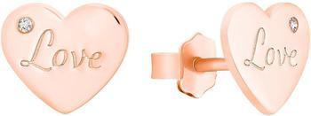 s.Oliver S.Oliver Ohrschmuck (6004074) rosa gold