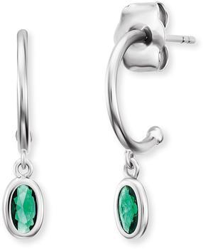 Engelsrufer Joynature Hoop Earrings green