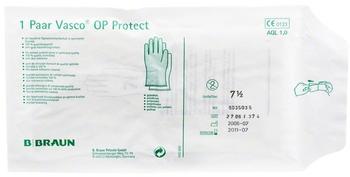 B. Braun Vasco OP Protect steril gepudert Gr. 7,5 (2 Stk.)