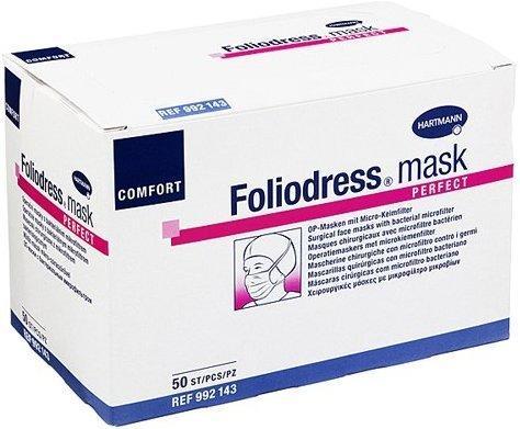 Hartmann Foliodress Mask Comfort Perfect grün (50 Stk.)