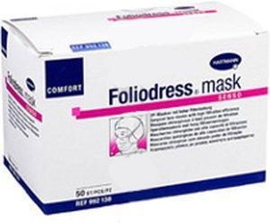 Hartmann Foliodress Mask Comfort Senso grün (50 Stk.)