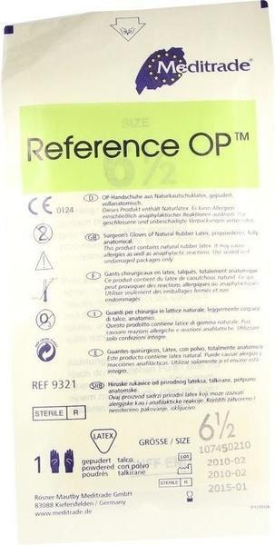 B. Braun Vasco OP free steril puderfrei Gr. 6,5 (2 Stk.)