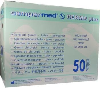 Lohmann & Rauscher Sempermed Derma Plus gepudert Gr. 7,5 (50 x 2 Stk.)