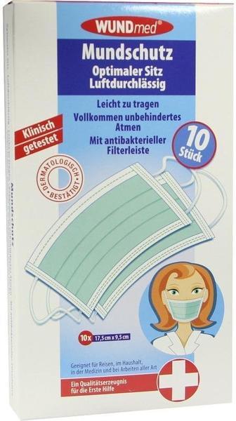 Axisis Mundschutz mit antibakterieller Filterleiste (10 Stk.)
