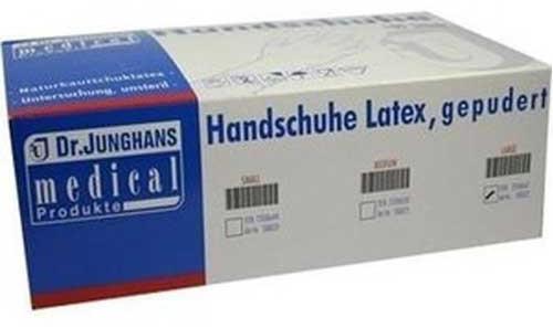 Dr. Junghans Medical Latex OP-Handschuhe gepudert Gr. 8,5 (50 x 2 Stk.)