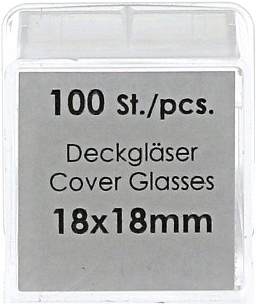 Param Deckgläser 18 x 18 mm (100 Stk.)