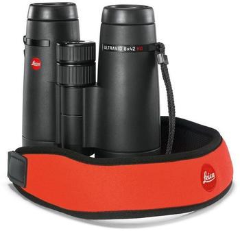 Leica Neopren-Trageriemen signalorange