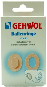 Gehwol Ballenringe Oval (6 St.)