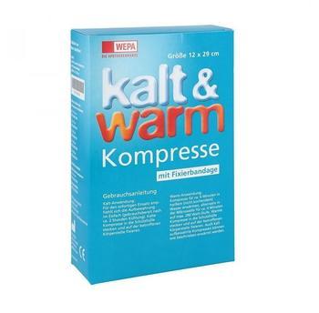 Wepa Kalt-warm Kompresse 12x29cm