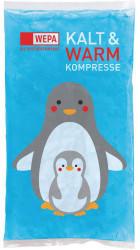 Wepa Apothekenbedarf Wepa Kalt-warm Kompresse 8,5x14,5cm Pinguin