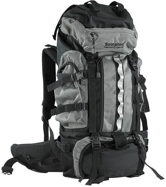 Semptec Trekking-Rucksack mit Aluminium-Rahmen, 70 Liter