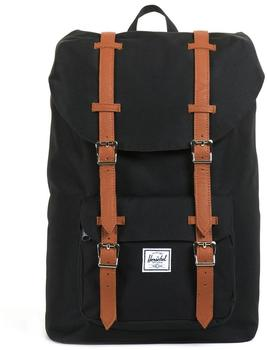 Herschel Little America Backpack Mid-Volume black/black/tan