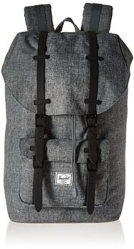 Herschel Little America Backpack raven crosshatch/black rubber (01132)
