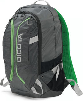 """Dicota Active Backpack 14-15,6"""" grey/lime"""
