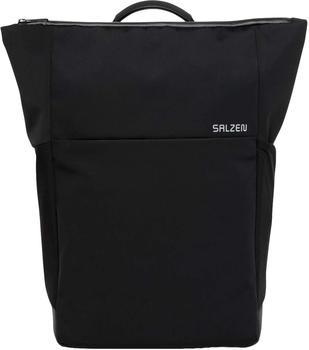SALZEN Plain Backpack phantom black