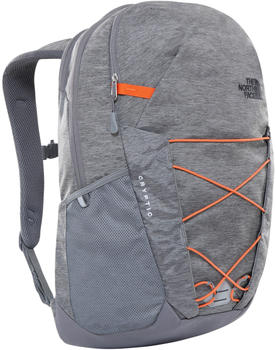 the-north-face-cryptic-backpack-zinc-grey-dark-heather-persian-orange
