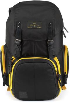 Nitro Weekender Backpack golden black