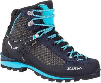 Salewa Crow GTX Women blue premium navy/ethernal blue