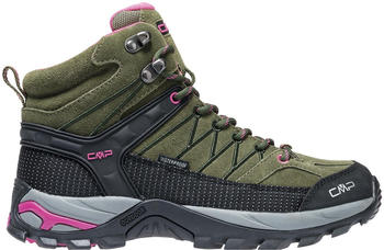 CMP Rigel Mid Women olive/hot pink