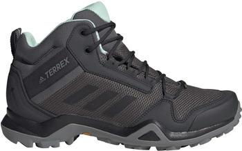 Adidas Terrex AX3 Mid GTX Grey/Core Black/Clear Mint