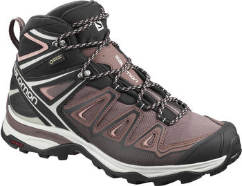 Salomon X Ultra 3 Mid GTX W peppercorn/black/coral almond