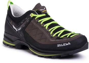 Salewa Mountain Trainer 2 Leather (61357) smoked/fluo green