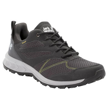 Jack Wolfskin Woodland Texapore Low M dark grey/lime