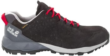Jack Wolfskin Cascade Hike LT Texapore Low M black/red