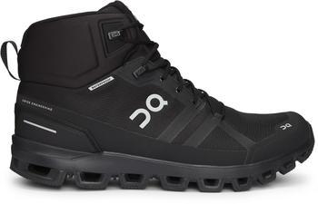 On Cloudrock Waterproof all black