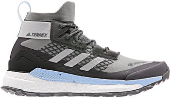 Adidas Terrex Free Hiker GTX Women ch solid grey/grey two/glow blue