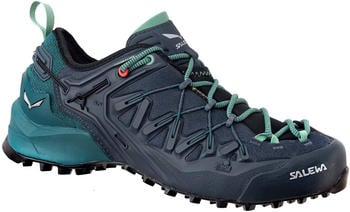 Salewa Wildfire Edge GTX Women's Shoes ombre blue/atlantic deep