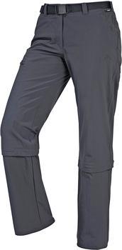 Maier Sports Wwomen Pants Zip Off Arolla graphite