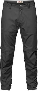 Fjällräven Travellers Zip-Off Trousers Men dark grey