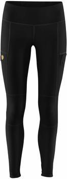 fjaellraeven-abisko-trail-tights-women-black
