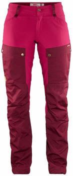 Fjällräven Keb Trousers Curved W Reg dark garnet/plum