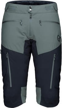 norrna-fjora-flex1-shorts-castor-grey-caviar