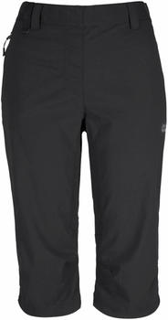 Jack Wolfskin Activate Light 3/4 Pants W black