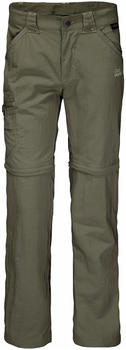 Jack Wolfskin Safari Zip Off Pants K woodland green