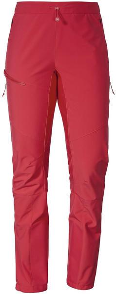 Schöffel Softshell Pants Rognon L red