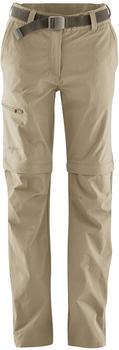 Maier Sports Women Pants Zip-Off Nata coriander