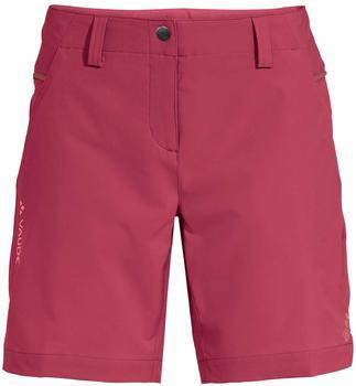 Vaude VAUDE Womens Skomer Shorts III red cluster