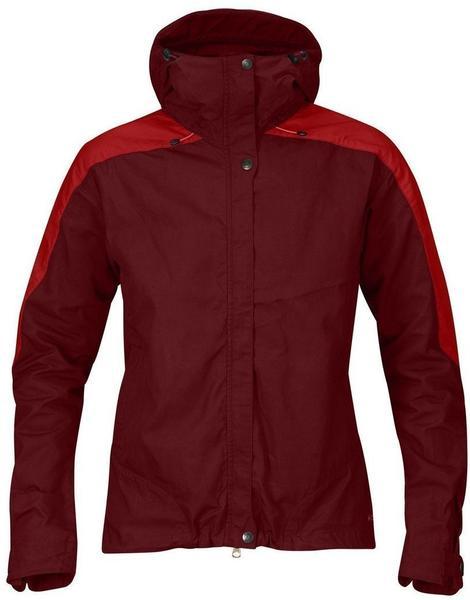 Fjällräven Skogsö Jacket W Red / Ox Red