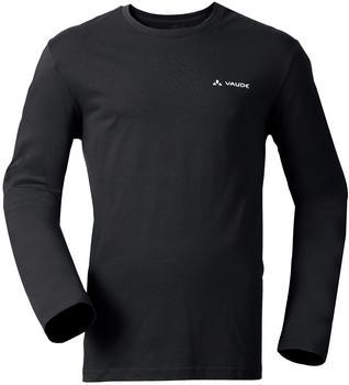 VAUDE Men's Brand LS Shirt black