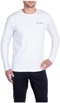 VAUDE Men's Brand LS Shirt white
