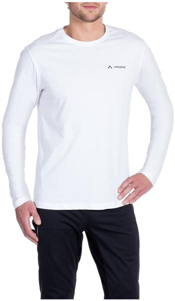 VAUDE Men's Brand LS Shirt white